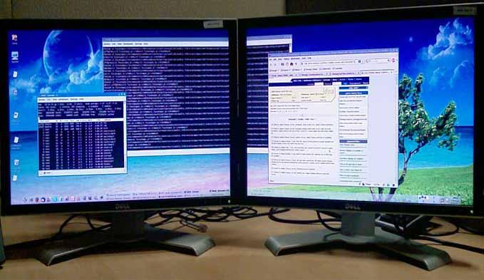 Kelebihan wallpaper Untuk Dua Monitor
