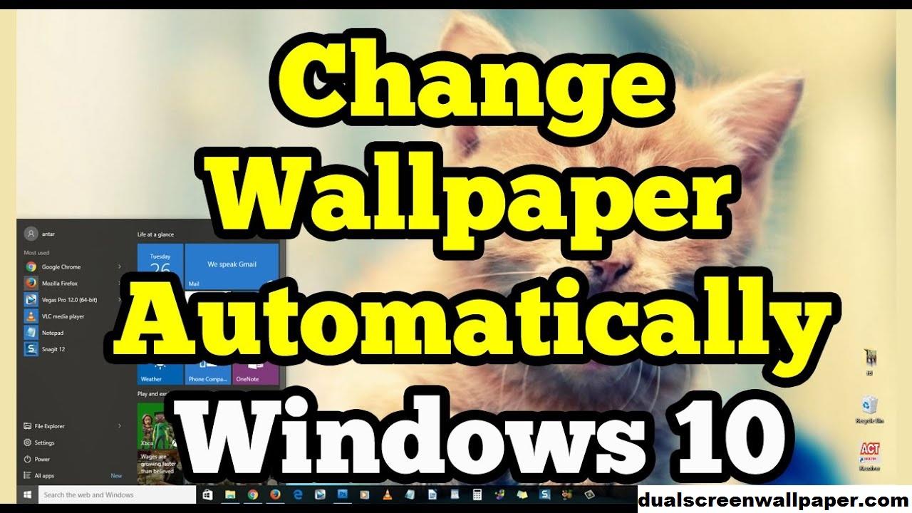 Cara Mengganti Wallpaper Secara Otomatis di Windows 10